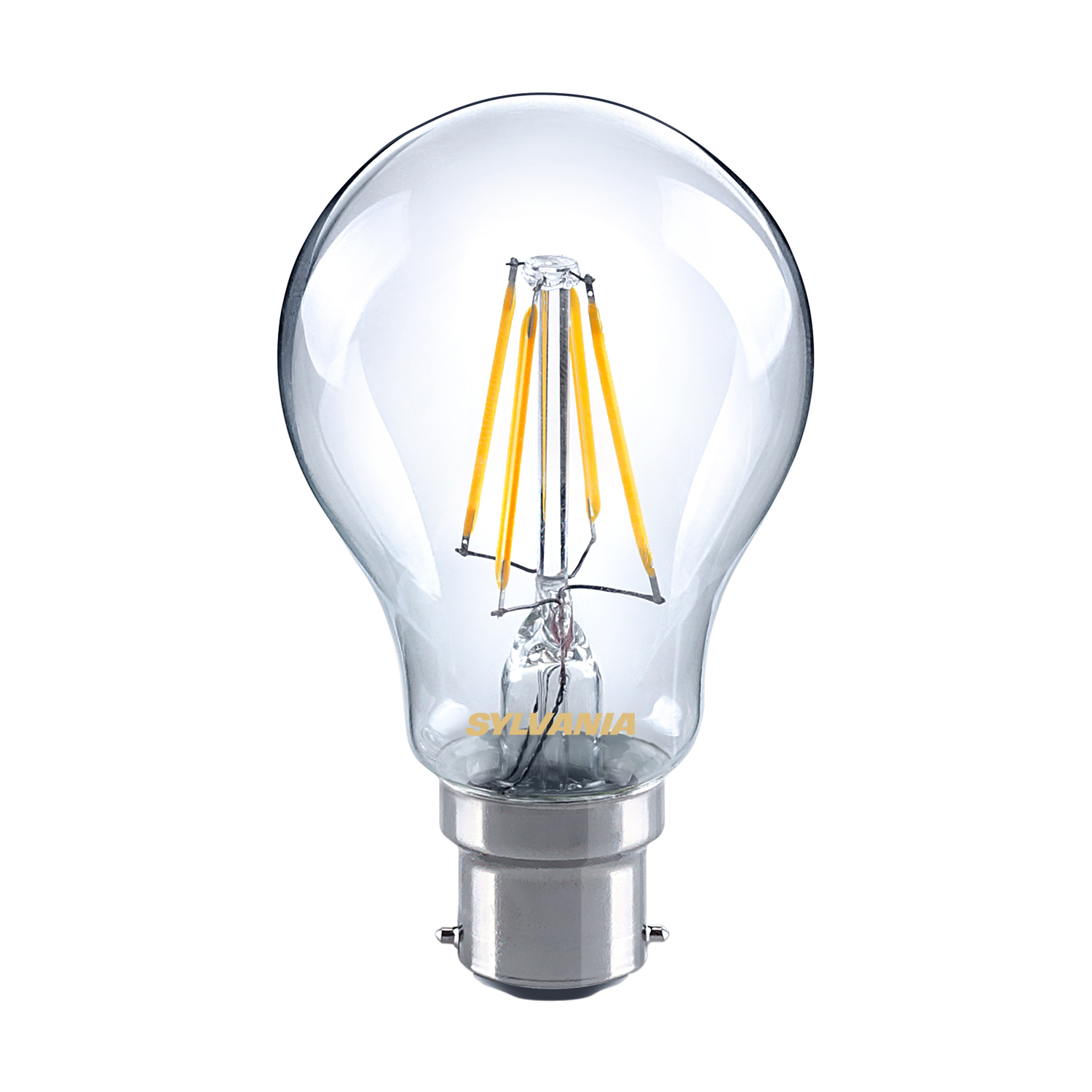 sylvania 5w led gls traditional light bulb b22 bc warm. Black Bedroom Furniture Sets. Home Design Ideas