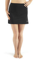 Bohn Swimwear Simple A-Line Swim Skirt In Black Size 10 - 24